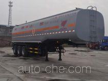 Qilin QLG9409GRYL flammable liquid aluminum tank trailer