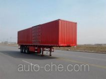 Qilong QLY9400XXYP3 box body van trailer