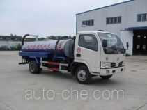 Biogas digester residue suction truck