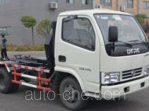 Jieli Qintai QT5041ZXXD4 detachable body garbage truck