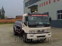 Jieli Qintai QT5080GHYB chemical liquid tank truck