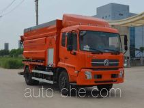 Jieli Qintai QT5161GQWD sewer flusher and suction truck