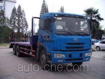 Jieli Qintai QT5250TPBC3 flatbed truck