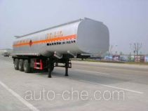 Jieli Qintai QT9402GRY flammable liquid tank trailer