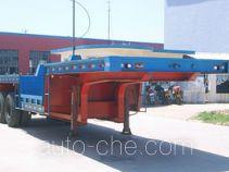 亚中车辆牌QTY9290TTS型铁水运输半挂车