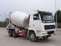 龙锐牌QW5250GJB型混凝土搅拌运输车