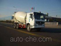 龙锐牌QW5252GJB型混凝土搅拌运输车
