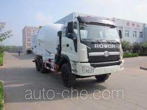 龙锐牌QW5253GJB型混凝土搅拌运输车