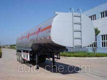 Longrui QW9401GHY chemical liquid tank trailer