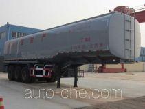 龙锐牌QW9401GRY型易燃液体罐式运输半挂车