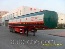 Longrui QW9402GHY chemical liquid tank trailer