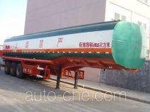 Rongwo QW9402GHY chemical liquid tank trailer