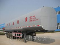龙锐牌QW9402GSY型食用油运输半挂车
