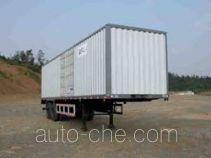 Qixing QX9270XXY box body van trailer