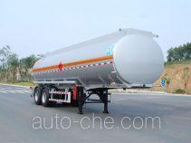 Qixing QXC9350GYY aluminium oil tank trailer