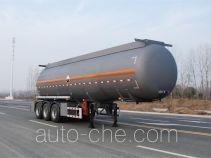 Qixing QXC9400GFW corrosive materials transport tank trailer