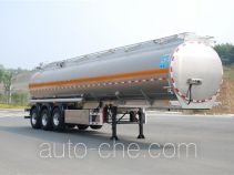 Qixing QXC9400GYS aluminium liquid food tank trailer