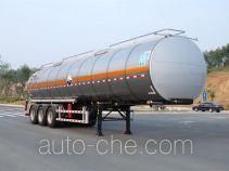 Qixing QXC9401GFW corrosive materials transport tank trailer