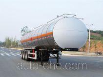 Qixing QXC9402GRY flammable liquid aluminum tank trailer