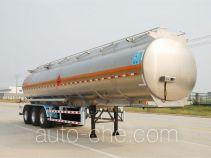 Qixing QXC9405GRY flammable liquid aluminum tank trailer