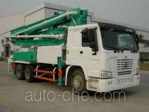 Qiaoxing QXQ5280THB concrete pump truck