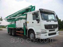 Qiaoxing QXQ5281THB concrete pump truck