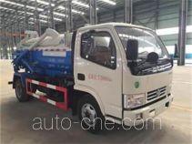 Dongfang Qiyun QYH5070GXWE sewage suction truck
