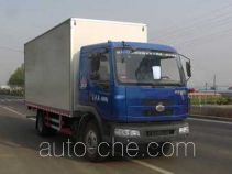 Qingchi QYK5165XBW insulated box van truck