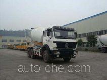 Zhongte QYZ5253GJBND10 concrete mixer truck