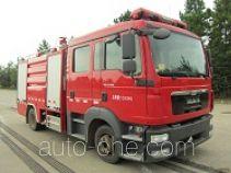 Yongqiang Aolinbao RY5121GXFSG50 fire tank truck