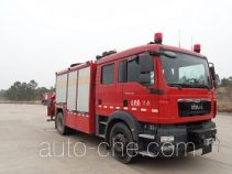 永强奥林宝牌RY5121TXFJY100/B型抢险救援消防车