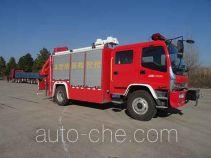 永强奥林宝牌RY5135TXFJY90/C型抢险救援消防车