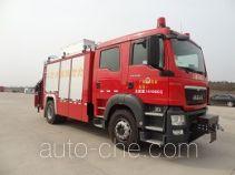 永强奥林宝牌RY5141TXFJY100/01型抢险救援消防车