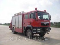 卢森宝亚永强牌RY5141TXFJY100E型抢险救援消防车
