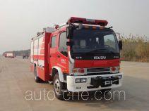 永强奥林宝牌RY5155GXFAP40A型A类泡沫消防车