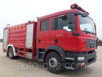 卢森宝亚永强牌RY5161GXFPM60型泡沫消防车
