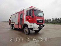 永强奥林宝牌RY5221TXFJY200/B型抢险救援消防车