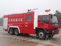 卢森宝亚永强牌RY5235GXFPM100型泡沫消防车