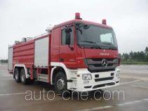 卢森宝亚永强牌RY5272GXFPM120E型泡沫消防车