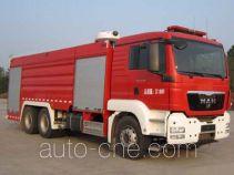 Yongqiang Aolinbao RY5281GXFSG120/R fire tank truck