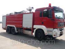 Rosenbauer Yongqiang RY5281GXFSG120F fire tank truck