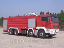 卢森宝亚永强牌RY5358GXFPM180型泡沫消防车