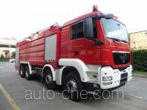 永强奥林宝牌RY5358GXFPM180A型泡沫消防车