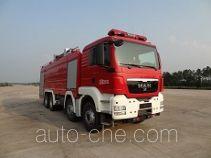 Yongqiang Aolinbao RY5361GXFPM180/P foam fire engine