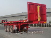 北宇达牌SBY9407ZZXP型平板自卸半挂车