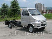 长安牌SC1021GDD51CNG型两用燃料载货汽车底盘
