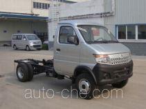 长安牌SC1035DCA4CNG型两用燃料载货汽车底盘