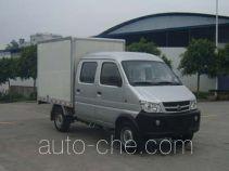 长安牌SC5021XXYDS32CNG型两用燃料厢式运输车