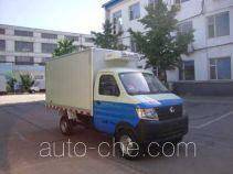 长安牌SC5025XLCDA4CNG型冷藏车