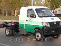 Changan Auto electric hooklift hoist garbage truck